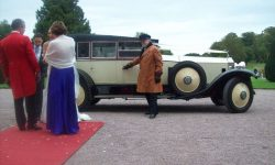 1927 Vintage Rolls Royce Phantom I convertible in Ivory White______