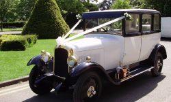 1928 Vintage 'Masons' British Built Citroen in White
