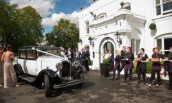 1928 Vintage 'Masons' British Built Citroen in White (outside venue) reduced