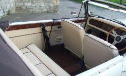 1930's style 2 door Beauford open-top convertible tourer in Ivory 3