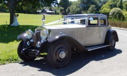 1931 Vintage Rolls Royce Phantom II Continental Sports Saloon in Ivory White_