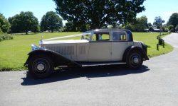 1931 Vintage Rolls Royce Phantom II Continental Sports Saloon in Ivory White__
