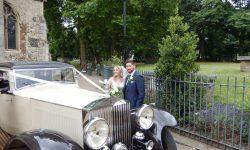 1931 Vintage Rolls Royce Phantom II Continental Sports Saloon in Ivory White___