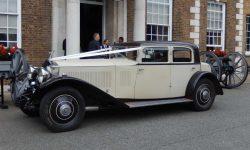 1931 Vintage Rolls Royce Phantom II Continental Sports Saloon in Ivory White____