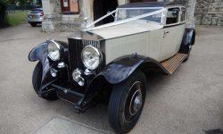 1931 Vintage Rolls Royce Phantom II Continental Sports Saloon in Ivory White______