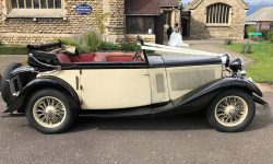 1933 Vintage Roech Talbot three position drop-head convertible in Ivory 2