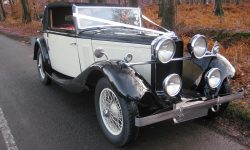 1933 Vintage Roesch Talbot (roof up position)