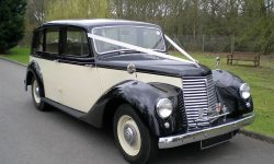1951 Armastrong Siddleley long bodied Limousine in Black and Ivory