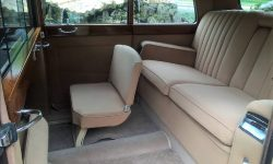 1951 Armastrong Siddleley long bodied Limousine in Black and Ivory (interior)