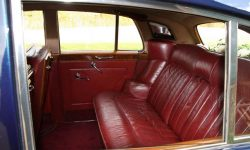 1957 Bentley S1 in Metallic Royal Blue interior