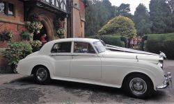 1960 RR Silver Cloud II in White 4