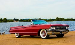 1962 Cadillac Eldorado Biarritz convertible in Cherry Red 2