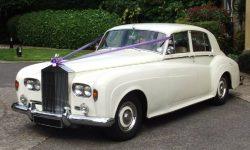 1963 RR Silver Cloud III in White 3