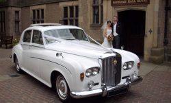 1964 Bentley S3 4 Bride and Groom 2