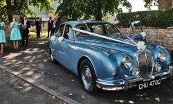 1965 Daimler V8 in Metallic Blue 7