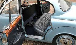 1965 Daimler V8 in Metallic Blue - rear interior in pic Navy Blue 4