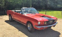 1965 Ford Mustang convertible in Red 6_1