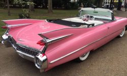 iconic 1959 Pink Cadillac convertible 4