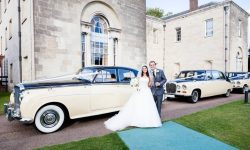 1960 Bentley S2 in Black and Cream (with Daimlers)_1