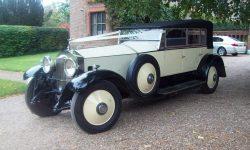 1927 Vintage Rolls Royce Phantom I convertible in Ivory White____