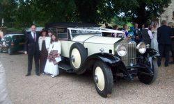 1927 Vintage Rolls Royce Phantom I convertible in Ivory White_____