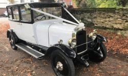 1928 Vintage 'Masons' British Built Citroen in White en 2