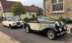 1933 Roesch Talbot convertible with Daimler
