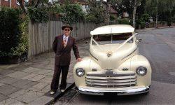 1946 Ford Sedan Hot Rod in Corish Cream (6)