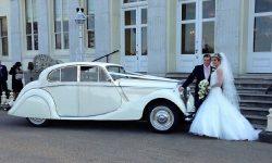 1950 MK V Jaguar in Ivory 3