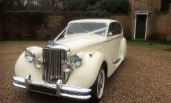 1950 MK V Jaguar in Ivory 4