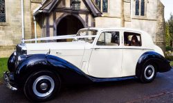 1952 Bentley 'R' Type Sports in Ivory with Black running boards and arches