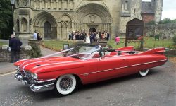 1959 Cadillac convertible in Festival Red 4