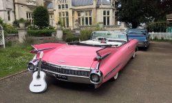 1959 Pink Cadillac convertible 3