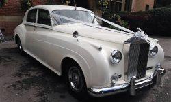 1960 RR Silver Cloud II in White 5