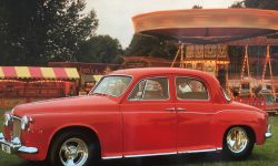 1960 Rover 600 in Tornado Red (fairground pic) en