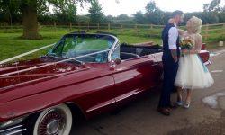 1962 Cadillac Eldorado Biarritz convertible in Cherry Red 1