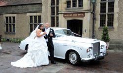 1964 Bentley S3 4 Bride and Groom