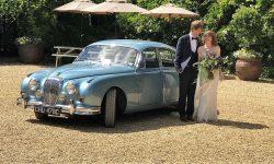 1965 Daimler V8 in Metallic Blue 15