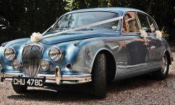 1965 Daimler V8 in Metallic Blue 4