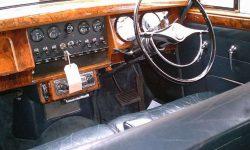 1965 Daimler V8 in Metallic Blue interior
