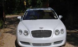 Bentley Contintental Flying Spur in White 1 - Copy