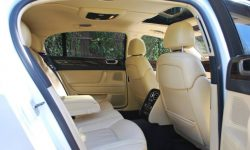 Bentley Contintental Flying Spur in White Interior 2