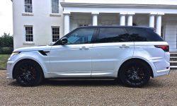 Latest Shape Range Rover Sports Lumma Edition in White 2