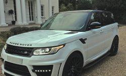 Latest Shape Range Rover Sports Lumma Edition in White