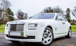 Modern Rolls Royce Silver Ghost in White