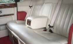 Phantom in Red with cream leater interior (latest shape) interior shot