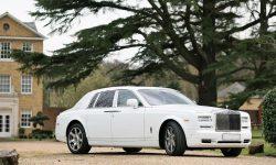 Rolls Royce Phantom II facelift model in White 2
