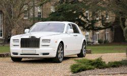 Rolls Royce Phantom II facelift model in White