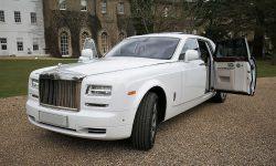 Rolls Royce Phantom II facelift model in White 3