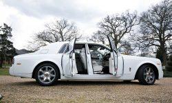 Rolls Royce Phantom II facelift model in White 4